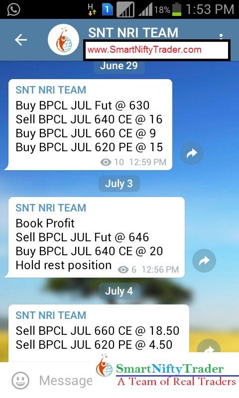 BPCL - Rs. 13,000+ Profit!